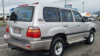 2002 Toyota Landcruiser FZJ105R GXL Silver 4 Speed Automatic Wagon