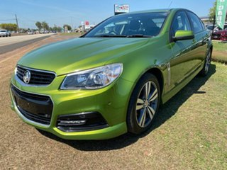 2015 Holden Commodore VF MY15 SV6 Green 6 Speed Sports Automatic Sedan.