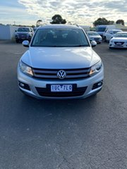 2013 Volkswagen Tiguan 5N MY14 132TSI DSG 4MOTION Pacific Reflex Silver 7 Speed.