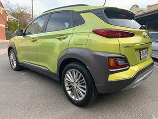 2017 Hyundai Kona OS MY18 Elite D-CT AWD Acid Yellow & Black Roof 7 Speed