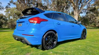 2017 Ford Focus LZ RS AWD Limited Edition Nitrous Blue 6 Speed Manual Hatchback