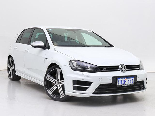 Used Volkswagen Golf AU MY14 R, 2014 Volkswagen Golf AU MY14 R White 6 Speed Direct Shift Hatchback