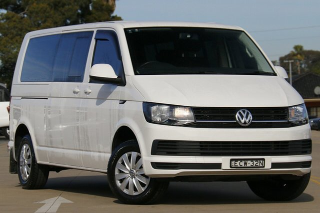 Used Volkswagen Caravelle T6 MY19 TDI340 LWB DSG Chullora, 2019 Volkswagen Caravelle T6 MY19 TDI340 LWB DSG White 7 Speed Sports Automatic Dual Clutch Wagon