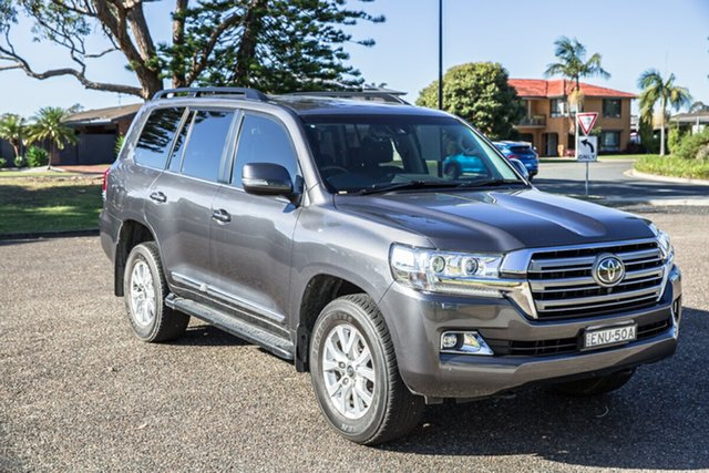 Used Toyota Landcruiser VDJ200R Sahara Port Macquarie, 2019 Toyota Landcruiser VDJ200R Sahara Grey 6 Speed Sports Automatic Wagon