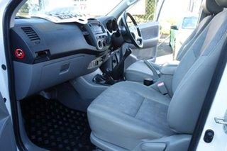 2008 Toyota Hilux KUN26R MY08 SR White 5 Speed Manual Utility