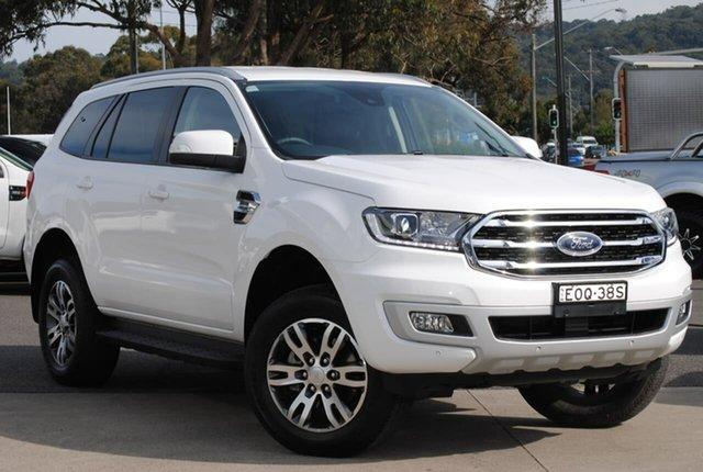 Used Ford Everest UA II 2020.25MY Trend West Gosford, 2020 Ford Everest UA II 2020.25MY Trend White 10 Speed Sports Automatic SUV