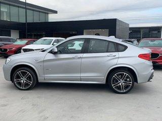 2017 BMW X4 F26 xDrive35i Coupe Steptronic Silver 8 Speed Automatic Wagon