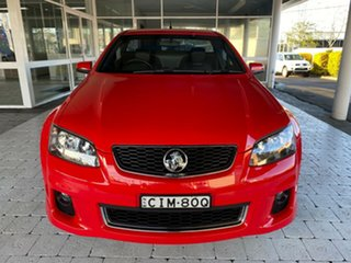 2012 Holden Ute SV6 - Z Series Red Manual Extracab.