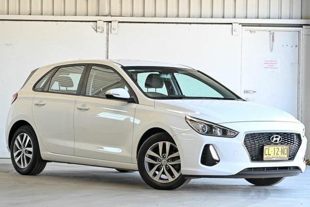 Used Hyundai i30 PD MY18 Active Laverton North, 2017 Hyundai i30 PD MY18 Active White 6 Speed Sports Automatic Hatchback
