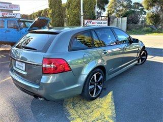 2016 Holden Commodore VF II MY16 SV6 Sportwagon Black Grey 6 Speed Sports Automatic Wagon.