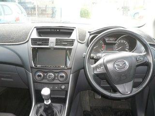 2017 Mazda BT-50 UR0YG1 XTR White 6 Speed Manual Utility