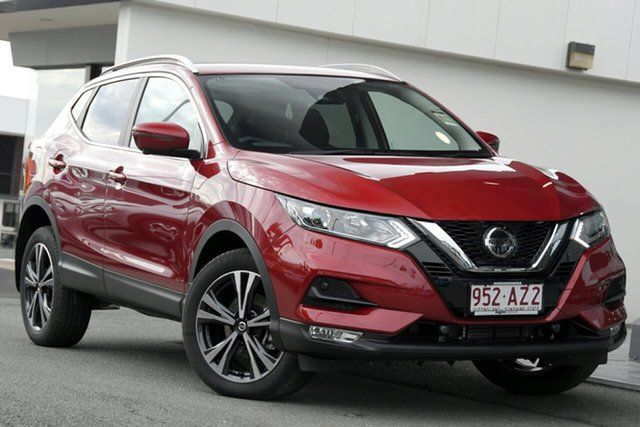 Demo Nissan Qashqai J11 Series 3 MY20 ST-L X-tronic Newstead, 2020 Nissan Qashqai J11 Series 3 MY20 ST-L X-tronic Magnetic Red 1 Speed Constant Variable Wagon