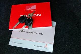 2014 Mitsubishi Triton MN MY15 GLX-R Double Cab Red 5 Speed Manual Utility