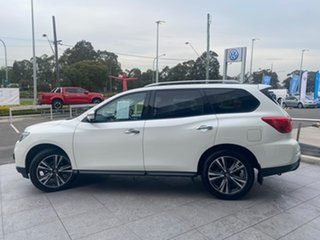 2019 Nissan Pathfinder R52 Series III MY19 Ti X-tronic 2WD Ivory 1 Speed Constant Variable Wagon