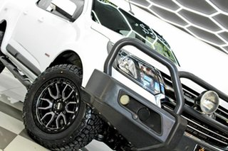2016 Holden Colorado RG MY17 LS (4x4) White 6 Speed Automatic Crew Cab Pickup.
