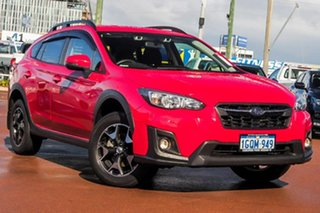 2018 Subaru XV G5X MY18 2.0i-L Lineartronic AWD Red 7 Speed Constant Variable Wagon.