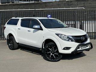 2015 Mazda BT-50 UR0YF1 XTR 4x2 Hi-Rider White 6 Speed Sports Automatic Utility.