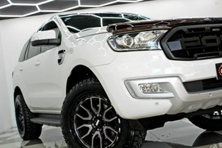 2016 Ford Everest UA MY17 Trend White 6 Speed Automatic SUV.