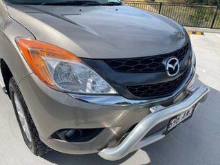 2013 Mazda BT-50 UP0YF1 GT Gold 6 Speed Sports Automatic Utility