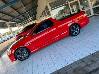2012 Holden Ute SV6 - Z Series Red Manual Extracab
