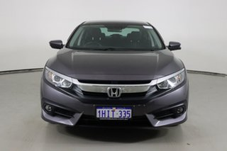 2016 Honda Civic MY16 VTi-L Grey Continuous Variable Sedan.