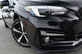 2018 Subaru Impreza G5 MY19 2.0i-S CVT AWD Black 7 Speed Constant Variable Hatchback.