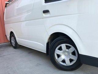 2007 Toyota HiAce TRH201R MY08 LWB White 5 Speed Manual Van