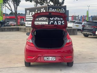 2016 Hyundai Accent Active Red Constant Variable Hatchback