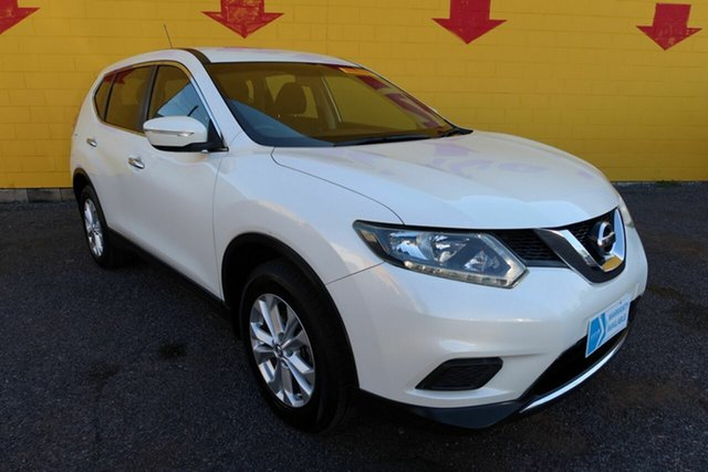 Used Nissan X-Trail Winnellie, 2015 Nissan X-Trail T32 ST X-tronic Pearl White 6 Speed Constant Variable Wagon