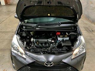 2017 Toyota Yaris NCP131R SX Grey 4 Speed Automatic Hatchback