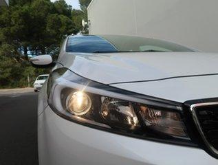 2016 Kia Cerato YD MY17 S Premium White 6 Speed Sports Automatic Sedan.