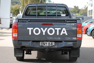 2009 Toyota Hilux TGN16R MY09 Workmate 4x2 Grey 5 Speed Manual Utility