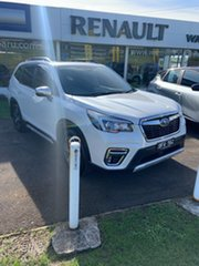 2020 Subaru Forester S5 MY20 2.5i-S CVT AWD White 7 Speed Constant Variable Wagon.