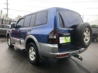 2000 Mitsubishi Pajero NM GLS LWB (4x4) Blue 5 Speed Auto Sports Mode Wagon