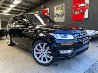 2017 Land Rover Range Rover Sport L494 HSE Dynamic Cosmos Black Sports Automatic Wagon.