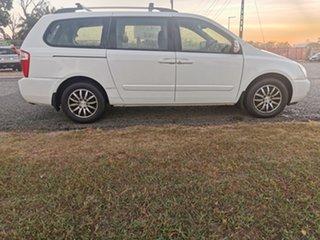 2013 Kia Grand Carnival VQ MY14 SLi White 6 Speed Sports Automatic Wagon