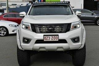 2018 Nissan Navara D23 Series II ST-X (4x4) White 7 Speed Automatic Dual Cab Utility.