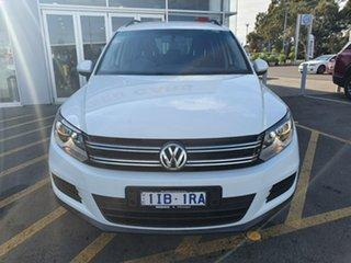 2015 Volkswagen Tiguan 5N MY16 118TSI 2WD White 6 Speed Manual Wagon.