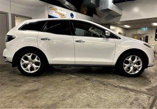2010 Mazda CX-7 ER1032 Luxury Activematic Sports White 6 Speed Sports Automatic Wagon.