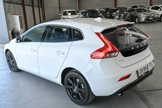 2016 Volvo V40 M Series MY16 T4 Adap Geartronic Luxury White 6 Speed Sports Automatic Hatchback