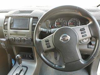 2009 Nissan Pathfinder R51 MY08 ST-L White 5 Speed Sports Automatic Wagon