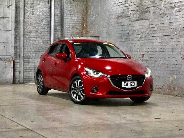 Used Mazda 2 DJ2HAA Genki SKYACTIV-Drive Mile End South, 2016 Mazda 2 DJ2HAA Genki SKYACTIV-Drive Red 6 Speed Sports Automatic Hatchback