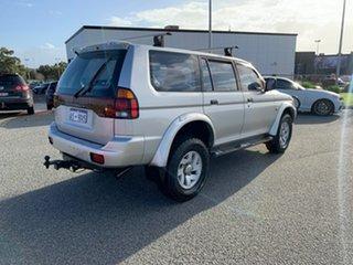 2002 Mitsubishi Challenger PA-MY01 (4x4) Silver 4 Speed Automatic 4x4 Wagon