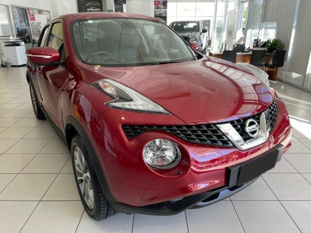 Used Nissan Juke F15 Series 2 Ti-S X-tronic AWD Mount Gravatt, 2015 Nissan Juke F15 Series 2 Ti-S X-tronic AWD Red 1 Speed Constant Variable Hatchback