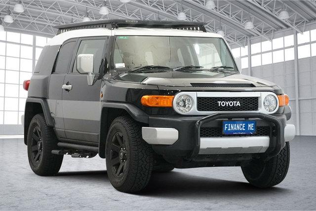 Used Toyota FJ Cruiser GSJ15R MY14 Victoria Park, 2014 Toyota FJ Cruiser GSJ15R MY14 Black 5 Speed Automatic Wagon