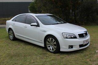 2011 Holden Caprice WM II V White 6 Speed Sports Automatic Sedan