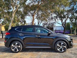2015 Hyundai Tucson TLE Highlander D-CT AWD Black 7 Speed Sports Automatic Dual Clutch Wagon.