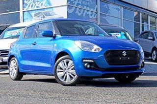 2021 Suzuki Swift AZ Series II GL Navigator Blue 1 Speed Constant Variable Hatchback.