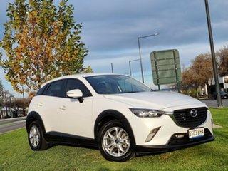 2015 Mazda CX-3 DK2W7A Maxx SKYACTIV-Drive Crystal White Pearl 6 Speed Sports Automatic Wagon.