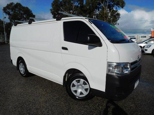 Used Toyota HiAce TRH201R MY12 LWB Wangara, 2013 Toyota HiAce TRH201R MY12 LWB White 4 Speed Automatic Van